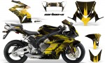 HONDA CBR 1000RR 04 05 AMR Graphics Kit CARB X Yellow 150x90 - Honda CBR 1000RR 2004-2005 Graphics