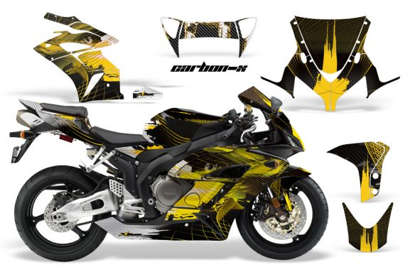 HONDA CBR 1000RR 04 05 AMR Graphics Kit CARB X Yellow 570x376 - Honda CBR 1000RR 2004-2005 Graphics