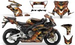 Honda CBR 1000RR Sport Bike Graphics 2004-2005