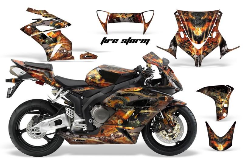 Honda CBR 1000RR Sport Bike Graphics 2004-2005