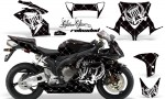 HONDA CBR 1000RR 04 05 AMR Graphics Kit SSR White BLKBG 150x90 - Honda CBR 1000RR 2004-2005 Graphics