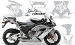 HONDA CBR 1000RR 04 05 AMR Graphics Kit SSR White Silverbg 150x90 - Honda CBR 1000RR 2004-2005 Graphics