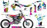 HONDA CRF450R 13 14 AMR Graphics Kit Decal Flashback CK 150x90 - Honda CRF450R 2013-2016 Graphics