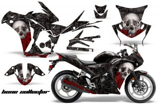 Honda CBR 250R 10 13 AMR Graphics Kit Wrap Bones K 320x211 - Honda CBR 250R 2010-2013 Graphics