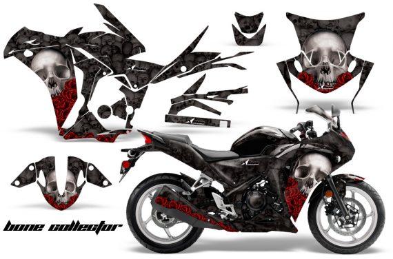 Honda CBR 250R 10 13 AMR Graphics Kit Wrap Bones K 570x376 - Honda CBR 250R 2010-2013 Graphics