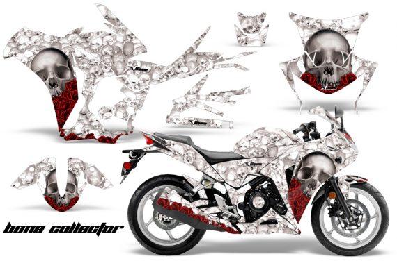 Honda CBR 250R 10 13 AMR Graphics Kit Wrap Bones W 570x376 - Honda CBR 250R 2010-2013 Graphics