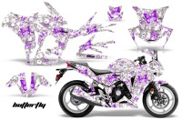 Honda-CBR-250R-10-13-AMR-Graphics-Kit-Wrap-Butterfly-Purple-White