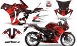 Honda CBR 250R 10 13 AMR Graphics Kit Wrap CarbonX R 150x90 - Honda CBR 250R 2010-2013 Graphics