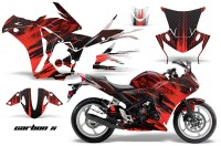 Honda-CBR-250R-10-13-AMR-Graphics-Kit-Wrap-CarbonX-R