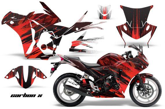 Honda CBR 250R 10 13 AMR Graphics Kit Wrap CarbonX R 570x376 - Honda CBR 250R 2010-2013 Graphics