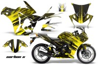 Honda-CBR-250R-10-13-AMR-Graphics-Kit-Wrap-CarbonX-Y