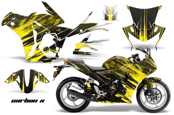 Honda CBR 250R 10 13 AMR Graphics Kit Wrap CarbonX Y 570x376 - Honda CBR 250R 2010-2013 Graphics
