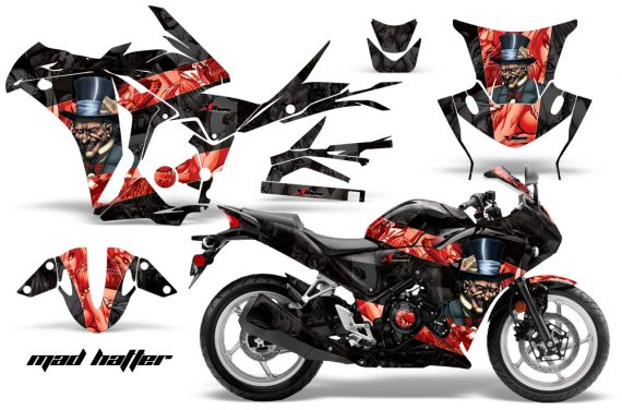 Honda CBR 250R 10 13 AMR Graphics Kit Wrap Mad Hatter RK 570x376 - Honda CBR 250R 2010-2013 Graphics
