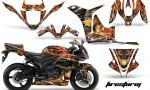 Honda CBR 600 FireStorm BlK 150x90 - Honda CBR 600RR 2007-2008 Graphics