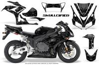 Honda-CBR1000-06-07-CreatorX-Graphics-Kit-Skullcified-Black