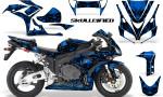 Honda CBR1000 06 07 CreatorX Graphics Kit Skullcified Blue 150x90 - Honda CBR 1000RR 2006-2007 Graphics