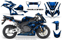 Honda-CBR1000-06-07-CreatorX-Graphics-Kit-Skullcified-Blue