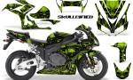 Honda CBR1000 06 07 CreatorX Graphics Kit Skullcified Green 150x90 - Honda CBR 1000RR 2006-2007 Graphics