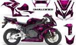 Honda CBR1000 06 07 CreatorX Graphics Kit Skullcified Pink 150x90 - Honda CBR 1000RR 2006-2007 Graphics