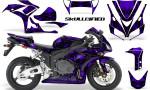 Honda CBR1000 06 07 CreatorX Graphics Kit Skullcified Purple 150x90 - Honda CBR 1000RR 2006-2007 Graphics