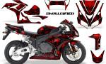 Honda CBR1000 06 07 CreatorX Graphics Kit Skullcified Red 150x90 - Honda CBR 1000RR 2006-2007 Graphics