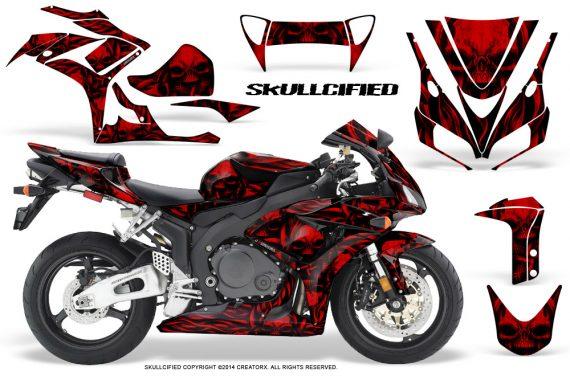 Honda CBR1000 06 07 CreatorX Graphics Kit Skullcified Red 570x376 - Honda CBR 1000RR 2006-2007 Graphics