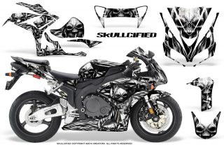 Honda CBR1000 06 07 CreatorX Graphics Kit Skullcified Silver 320x211 - Honda CBR 1000RR 2006-2007 Graphics