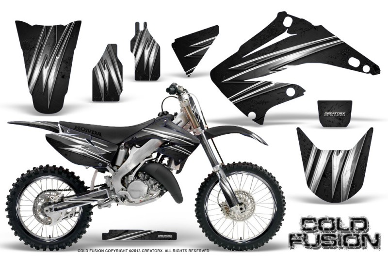 Honda-CR125-CR250-02-10-CreatorX-Graphics-Kit-Cold-Fusion-Black-NP-Rims