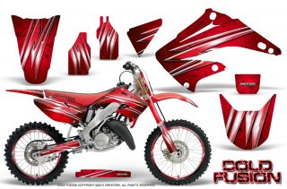 Honda CR125 CR250 02 10 CreatorX Graphics Kit Cold Fusion Red NP Rims 320x211 - Honda CR125 CR250 1995-2015 Graphics
