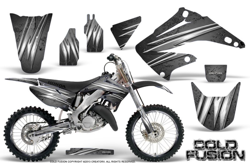 Honda-CR125-CR250-02-10-CreatorX-Graphics-Kit-Cold-Fusion-Silver-NP-Rims