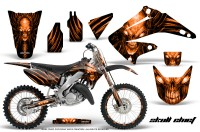 Honda-CR125-CR250-02-10-CreatorX-Graphics-Kit-Skull-Chief-Orange-NP-Rims