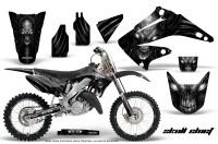 Honda-CR125-CR250-02-10-CreatorX-Graphics-Kit-Skull-Chief-Silver-NP-Rims