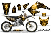 Honda-CR125-CR250-02-10-CreatorX-Graphics-Kit-Skull-Chief-Yellow-NP-Rims