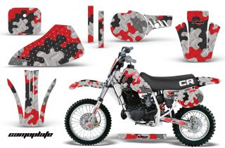 Honda CR60 AMR Graphics Kit Camoplate R 320x211 - Honda CR60 1984-1985 Graphics