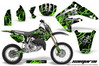Honda CR85 03 07 CreatorX Graphics Kit Samurai Green Black NP 320x213 - Honda CR85 2003-2007 Graphics