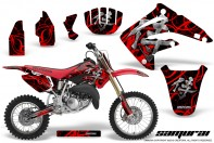 Honda-CR85-03-07-CreatorX-Graphics-Kit-Samurai-Red-Black-NP
