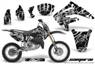 Honda-CR85-03-07-CreatorX-Graphics-Kit-Samurai-White-Black-NP