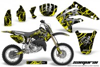 Honda-CR85-03-07-CreatorX-Graphics-Kit-Samurai-Yellow-Black-NP