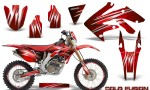 Honda CRF 250X 04 12 CreatorX Graphics Kit Cold Fusion Red NP Rims 150x90 - Honda CRF250X 2004-2018 Graphics