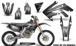 Honda CRF 250X 04 12 CreatorX Graphics Kit Cold Fusion Silver NP Rims 150x90 - Honda CRF250X 2004-2018 Graphics
