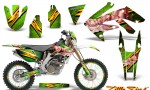 Honda CRF 250X 04 12 CreatorX Graphics Kit Little Sins Green NP Rims 150x90 - Honda CRF250X 2004-2018 Graphics