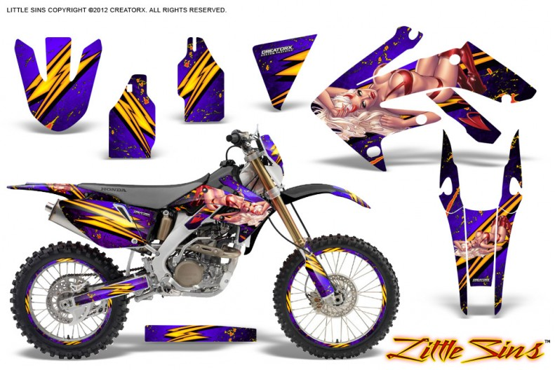 Honda-CRF-250X-04-12-CreatorX-Graphics-Kit-Little-Sins-Purple-NP-Rims