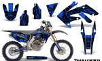 Honda CRF 250X 04 12 CreatorX Graphics Kit Skullcified Blue NP Rims 150x90 - Honda CRF250X 2004-2018 Graphics