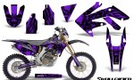 Honda CRF 250X 04 12 CreatorX Graphics Kit Skullcified Purple NP Rims 150x90 - Honda CRF250X 2004-2018 Graphics