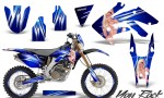 Honda CRF 250X 04 12 CreatorX Graphics Kit You Rock Blue NP Rims 150x90 - Honda CRF250X 2004-2018 Graphics