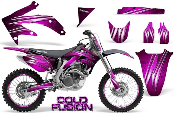 Honda CRF 450R 05 08 CreatorX Graphics Kit Cold Fusion Pink NP Rims 570x376 - Honda CRF450R 2002-2012 Graphics