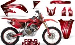 Honda CRF 450R 05 08 CreatorX Graphics Kit Cold Fusion Red NP Rims 150x90 - Honda CRF450R 2002-2012 Graphics