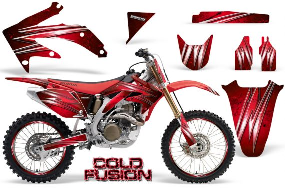 Honda CRF 450R 05 08 CreatorX Graphics Kit Cold Fusion Red NP Rims 570x376 - Honda CRF450R 2002-2012 Graphics