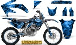 Honda CRF 450R 05 08 CreatorX Graphics Kit Inferno Blue NP Rims 150x90 - Honda CRF450R 2002-2012 Graphics
