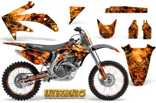 Honda CRF 450R 05 08 CreatorX Graphics Kit Inferno Orange NP Rims 320x211 - Honda CRF450R 2002-2012 Graphics